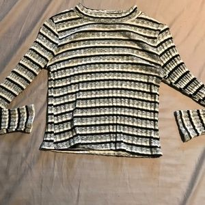 Tops - Long sleeve stripped turtle neck